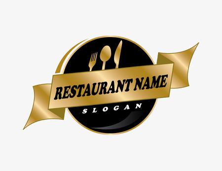 Restaurant ontwerp 2 Stock Illustratie