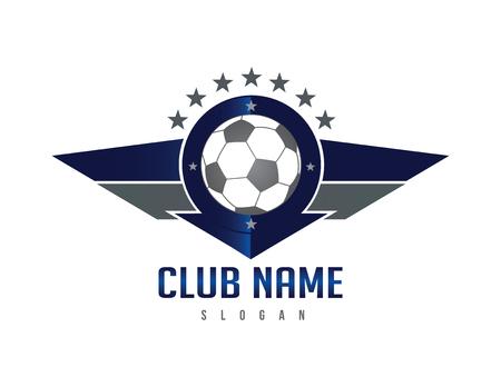Fußballflügel Schild