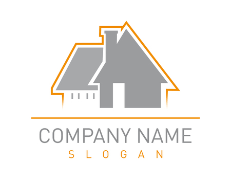 Home business design Ilustracja