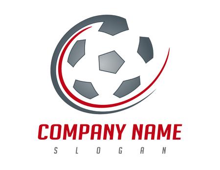 Soccer ball logo Stock Vector - 81693245