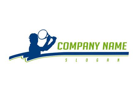 Tennis logotype Logo