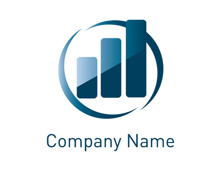 Financial concept logo