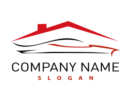 Logotipo de la casa y del auto