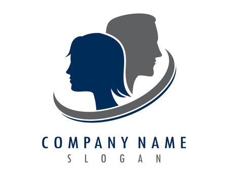 Man and woman logo