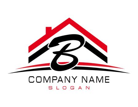 B house logo Иллюстрация