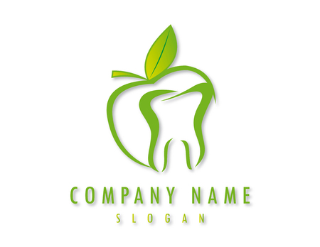 Logo del business dentista Archivio Fotografico - 82625207