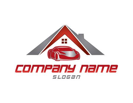 Insurance logo Иллюстрация