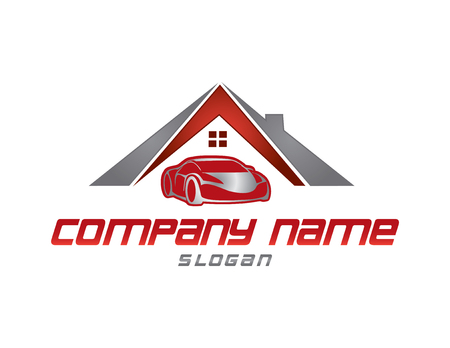 Insurance logo Illustration