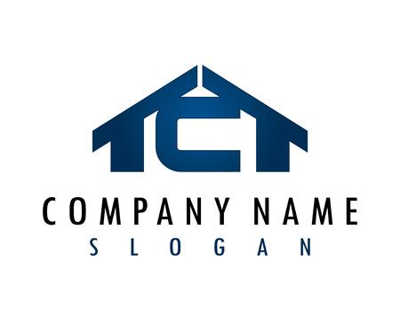 C house logo Иллюстрация