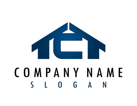 C huis logo Stockfoto - 82728803