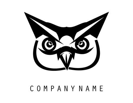 Owl logo Иллюстрация