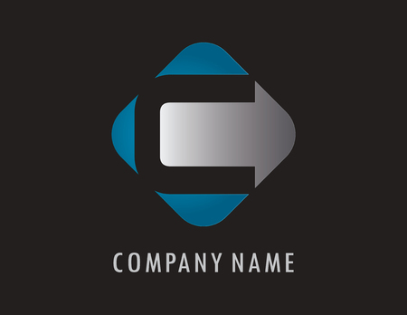 C business logo 向量圖像
