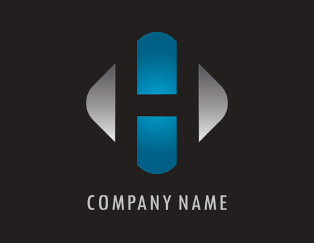 H business logo