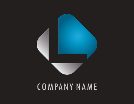 L business logo
