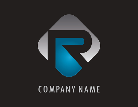 R business logo 向量圖像