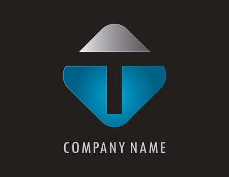 T business logo