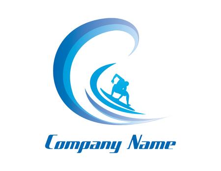 サーフィン ビジネスのロゴ