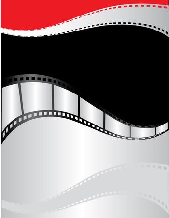 映画ポスター デザイン。