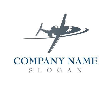 Airplane company logo