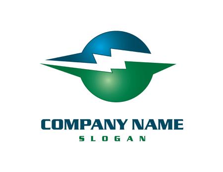 Electrical business logo Illustration