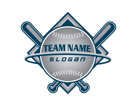 Baseball team logo Stock Vector - 82958474
