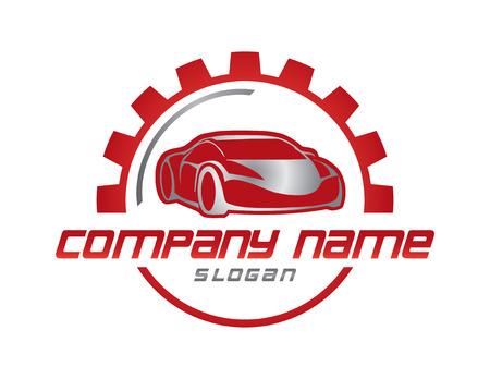 車ビジネスのロゴ  イラスト・ベクター素材