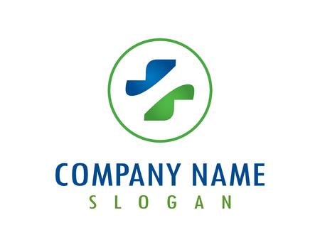 Health symbol logo