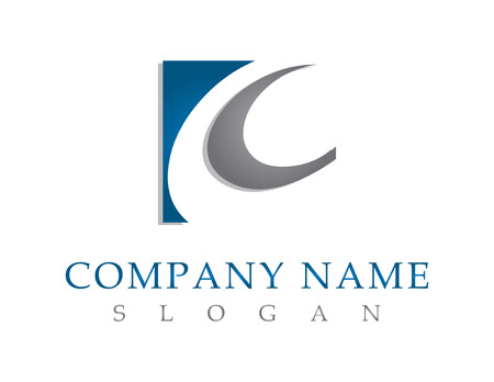 C 会社のロゴ  イラスト・ベクター素材