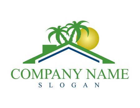 Home business logo Vectores