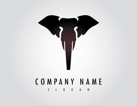 Logo de l'éléphant Banque d'images - 82999100