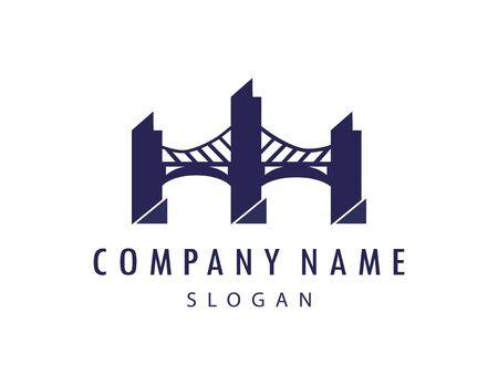 bridge logo Illustration