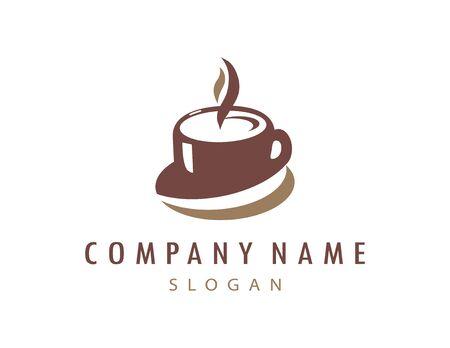 Cup coffee logo
