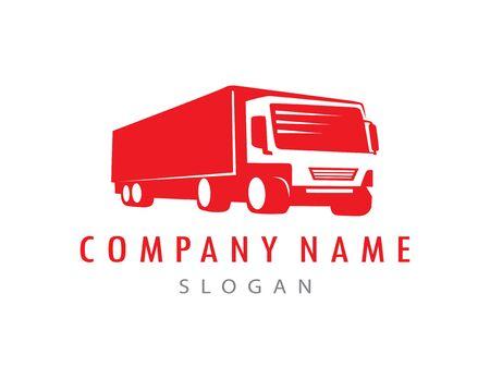 red truck logo