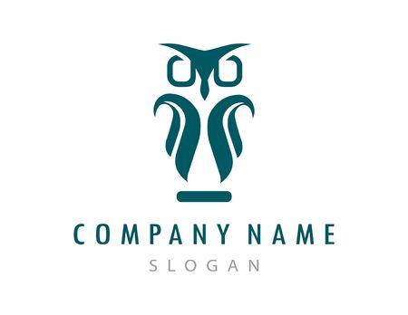 Owl logo 向量圖像