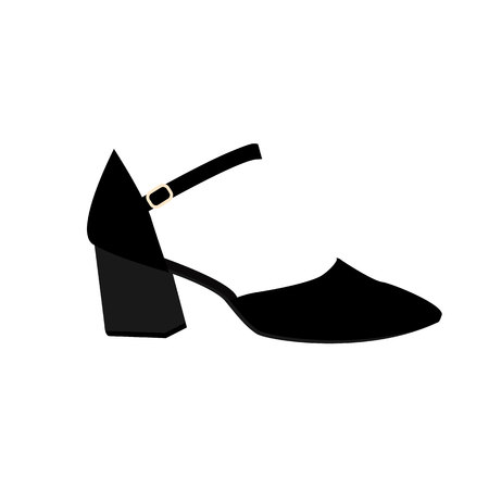 Woman shoes, shoes fashion, woman shoes isolated