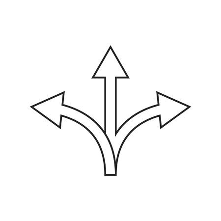 flexibility icon on white background, vector illustration eps10  イラスト・ベクター素材