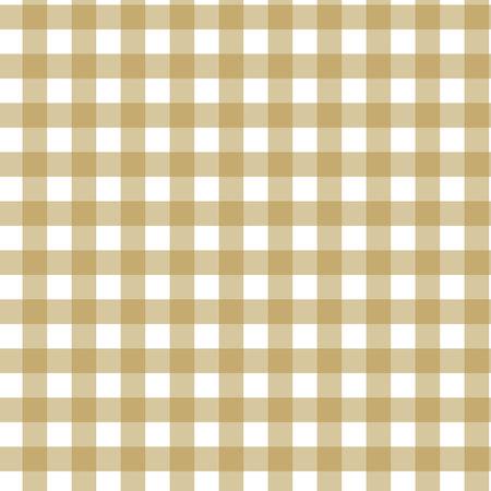 Modèle sans couture de tartan à carreaux. Couleur marron, beige, blanche. Style de mode écossais, bûcheron et hipster.