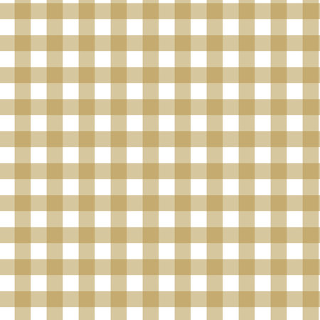 Plaid tartan seamless pattern. Brown, beige, white color. Scottish, lumberjack and hipster fashion style.