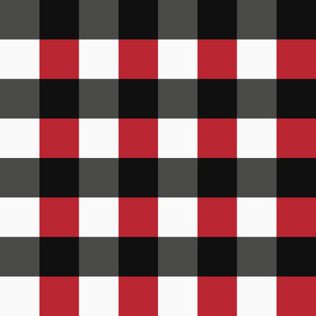 vector red black and white tartan plaid pattern for background eps 10 Çizim