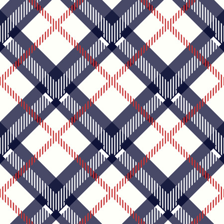 blue and beige fabric texture diagonal pattern seamless vector illustration Ilustración de vector