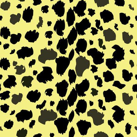leopard pattern texture repeating seamless monochrome black and white. Fashion and stylish background. Fall Winter 2018-2019 Print Trends eps 10