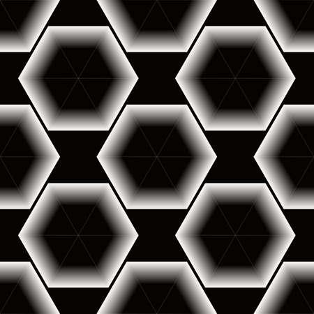 Honeycomb seamless pattern. Abstract geometric background eps10 Illustration