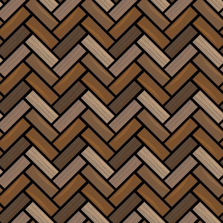 Natural wooden parquet texture. Seamless pattern eps 10 Standard-Bild - 127710195