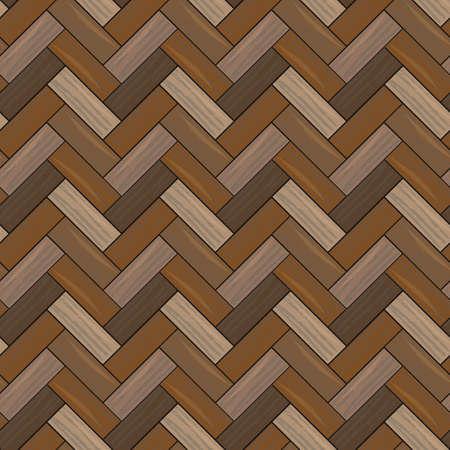 Natural wooden parquet texture. Seamless pattern eps 10
