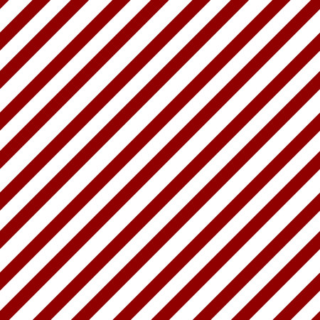 Abstract Seamless geometric diagonal striped pattern with red and white stripes. Vector illustration eps10