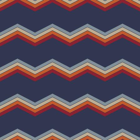 Chevron zigzag pattern abstract art background, color trends eps10 Standard-Bild - 127382178