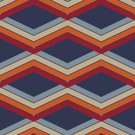 Chevron zigzag pattern abstract art background, color trends eps10 Standard-Bild - 127382180