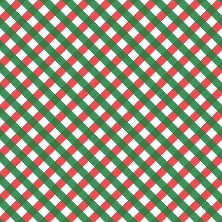 Christmas and New Year Scottish Woven Tartan Plaid Seamless Pattern eps10