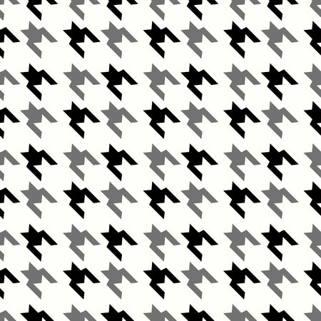 Houndstooth seamless pattern, monochrome. Can be used for wallpaper, pattern fills, web page background,surface textures eps 10 Standard-Bild - 127256571