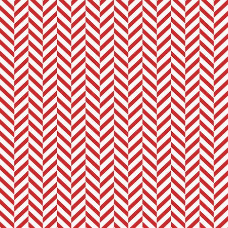 Herringbone Seamless Pattern - Classic red and white herringbone texture eps10 Illustration